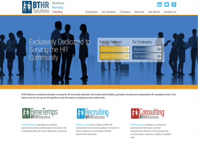 BTHR Website Design