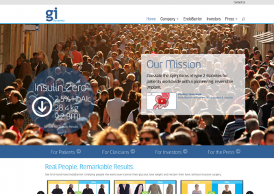 GI Dynamics Website